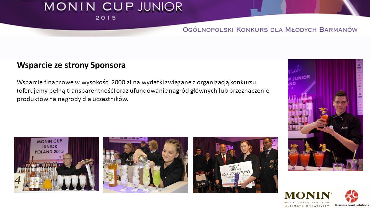 Wsparcie finansowe w wysokości 2000 zł na wydatki związane z organizacją konkursu (oferujemy pełną transparentność) oraz ufundowanie nagród głównych lub przeznaczenie produktów na nagrody dla uczestników.