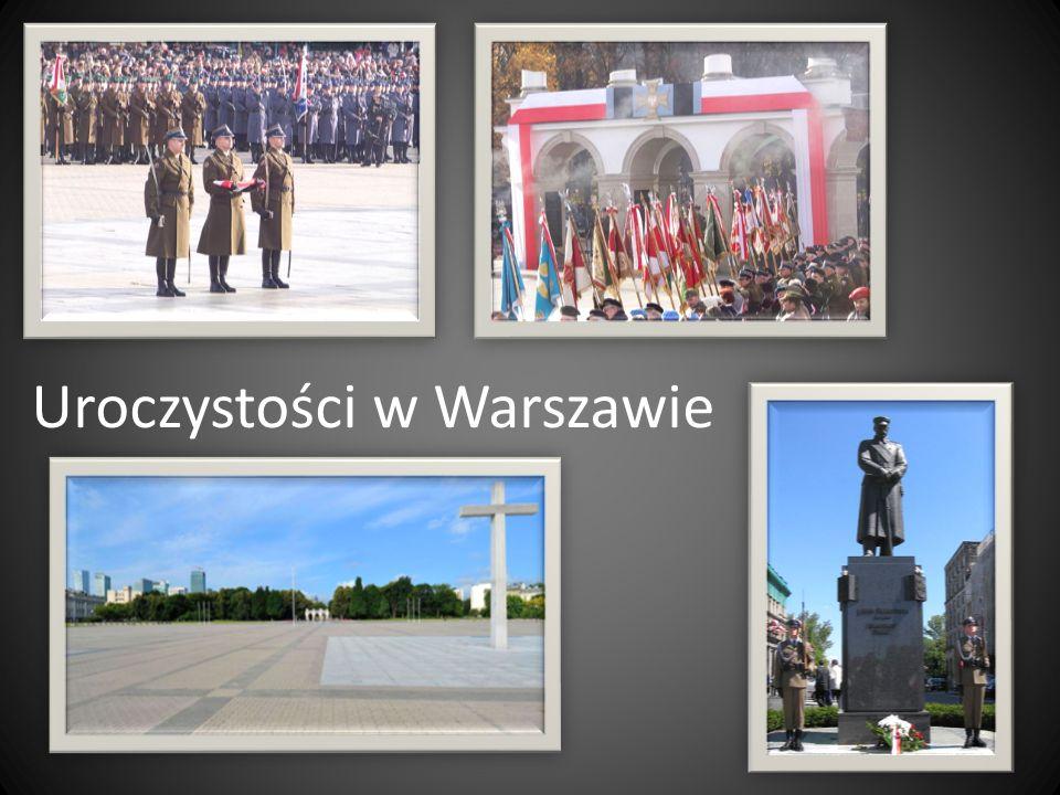 Uroczystości w Warszawie
