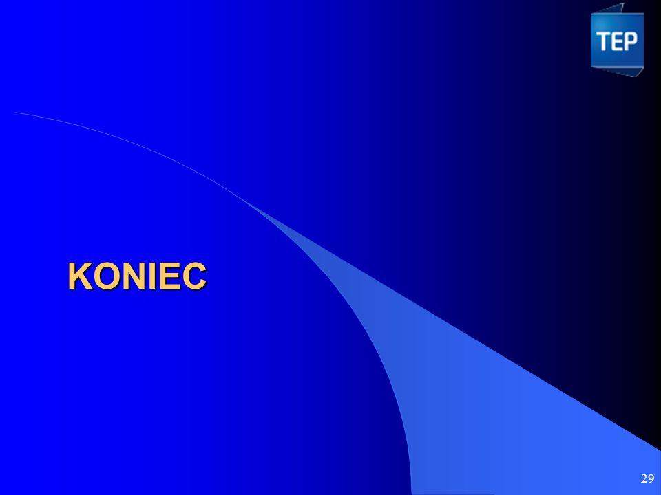 KONIEC 29