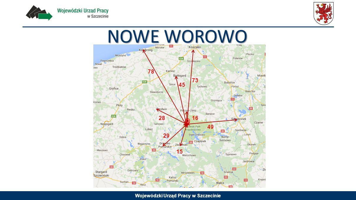 Wojewódzki Urząd Pracy w Szczecinie NOWE WOROWO 16 73 45 49 28 29 78 15