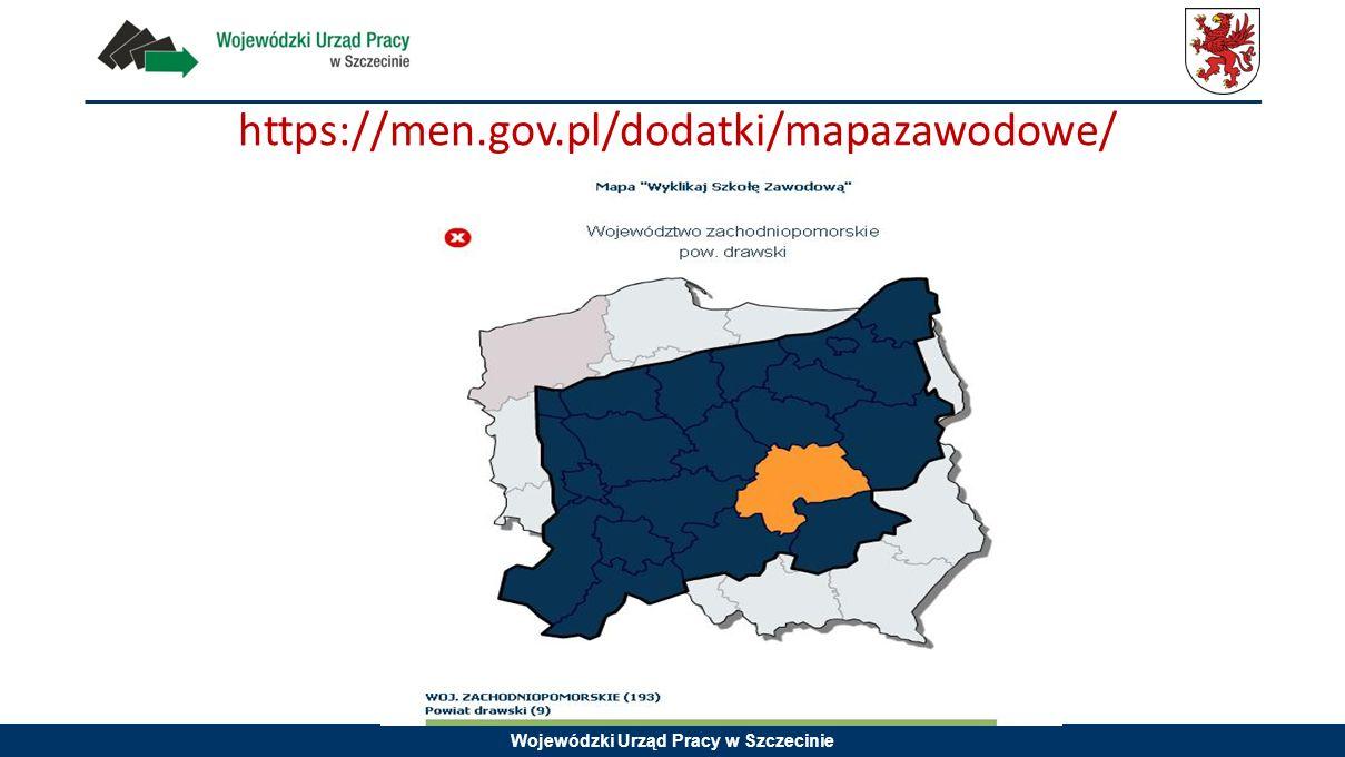 Wojewódzki Urząd Pracy w Szczecinie https://men.gov.pl/dodatki/mapazawodowe/