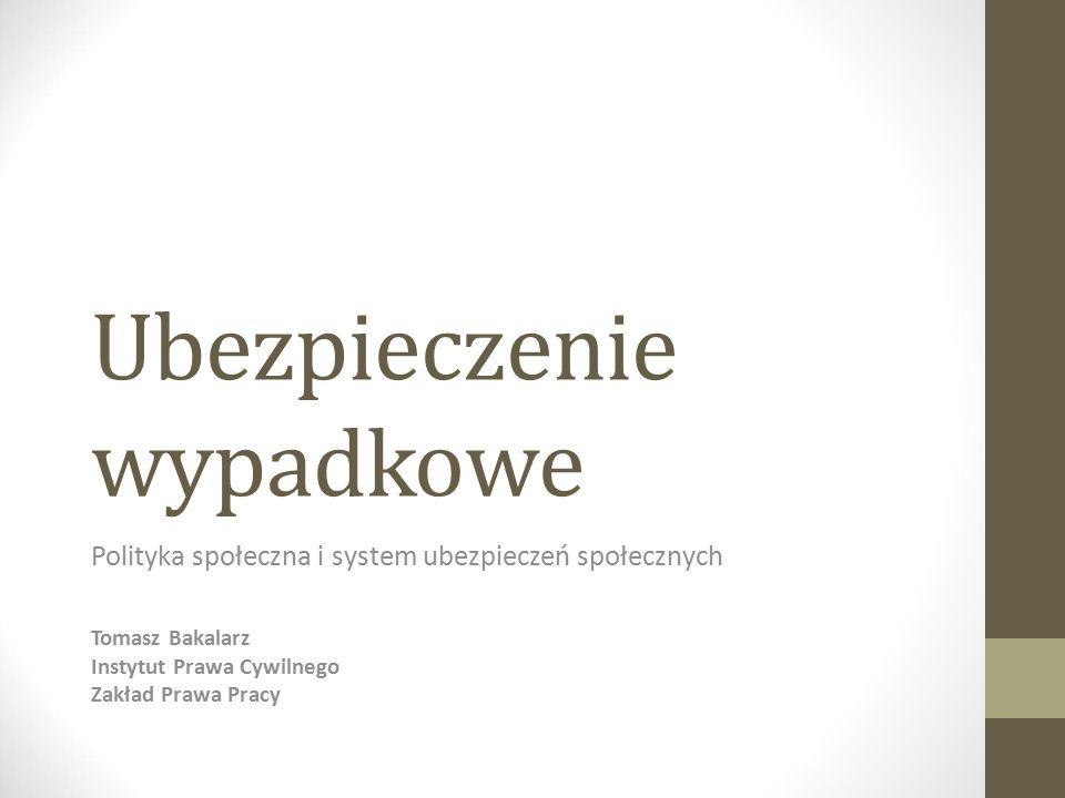 Źródła prawa Polityka społeczna i system ubezpieczeń społecznych ustawa z dnia 30 października 2002 r.