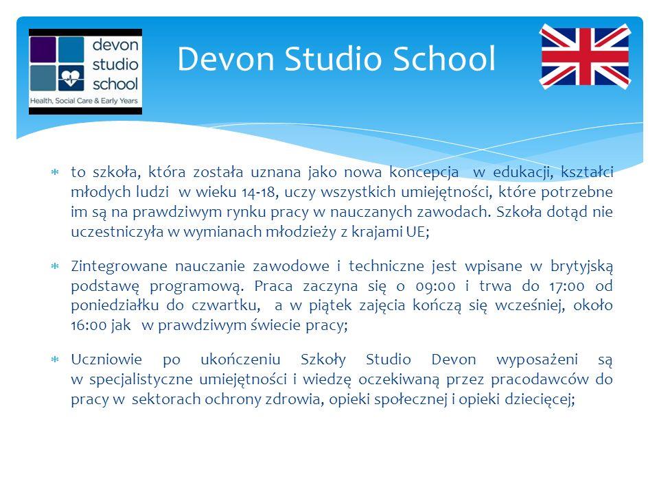  to szkoła, która została uznana jako nowa koncepcja w edukacji, kształci młodych ludzi w wieku 14-18, uczy wszystkich umiejętności, które potrzebne