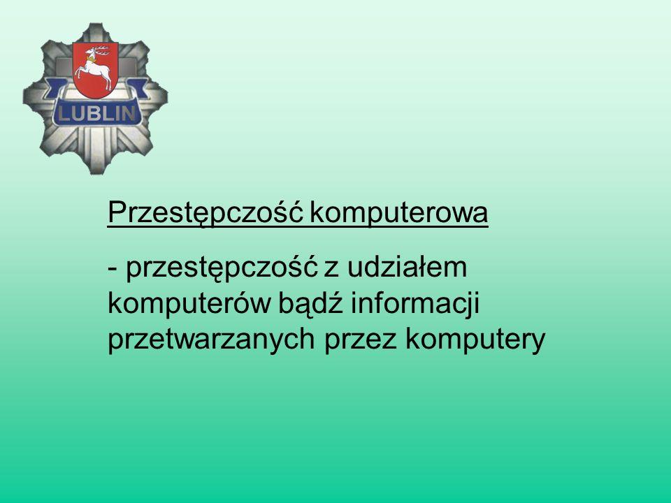Przestępczość komputerowa