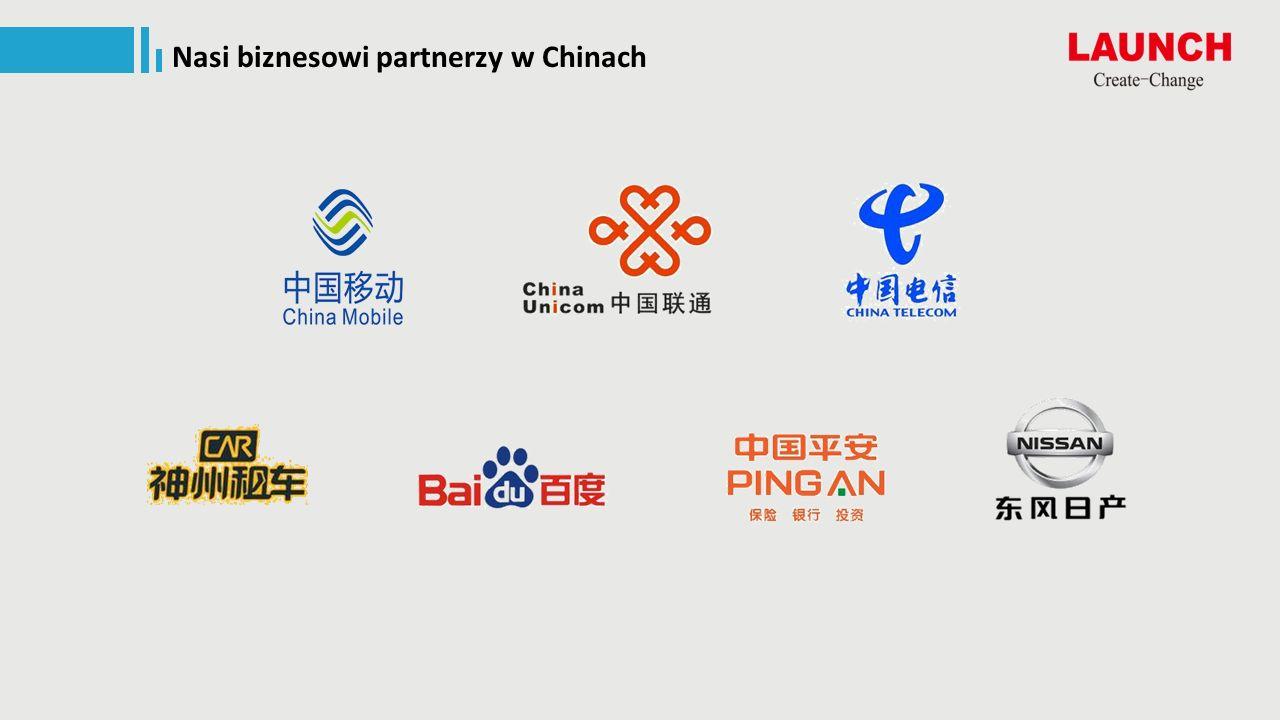 Nasi biznesowi partnerzy w Chinach