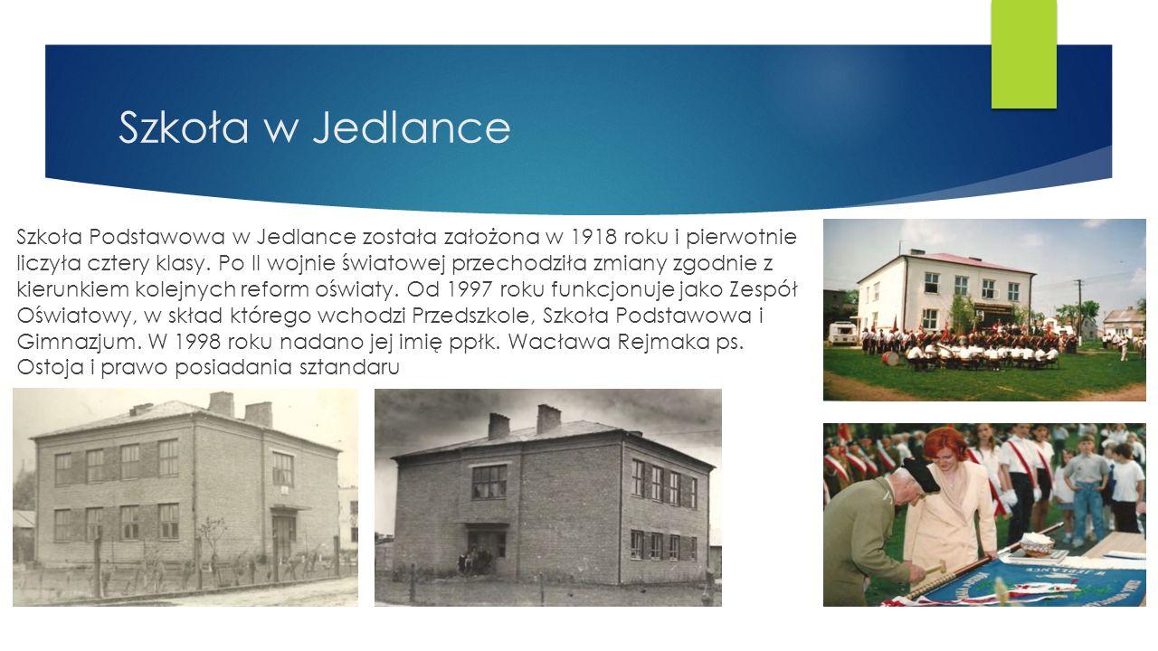Parafia Chrystusa Króla w Jedlance  Parafia erygowana została w 1928 r.