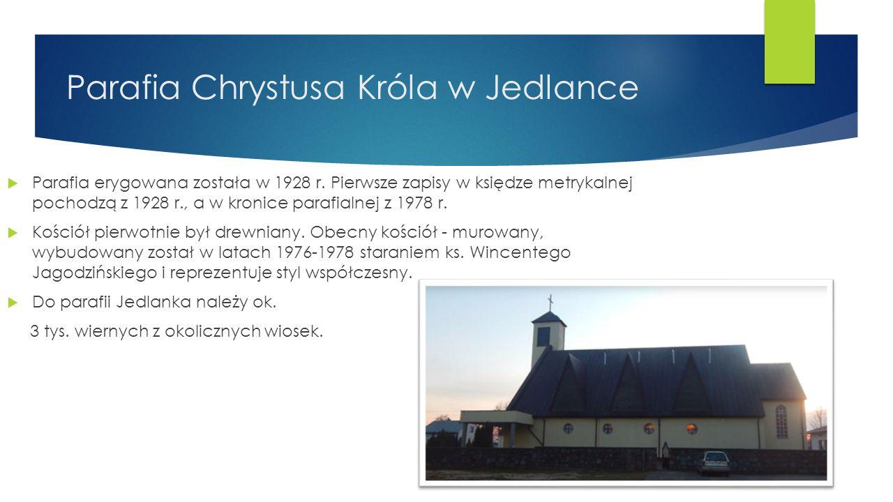 OSP w Jedlance Z inicjatywą powołania straży pożarnej w Jedlance wystąpił na zebraniu wiejskim sołtys Stefan Pieniak.