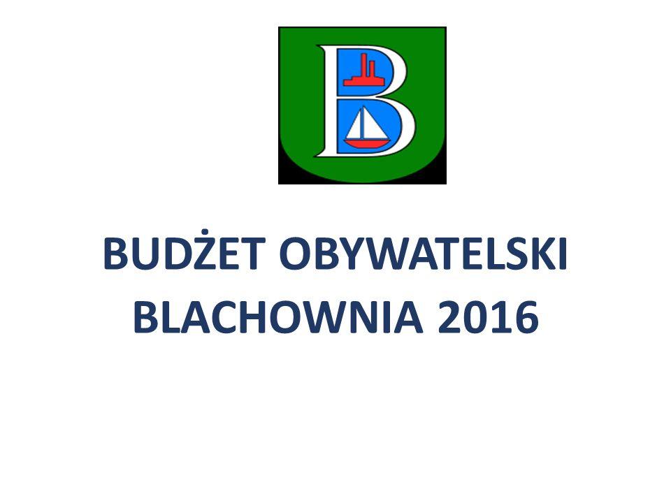 BUDŻET OBYWATELSKI BLACHOWNIA 2016