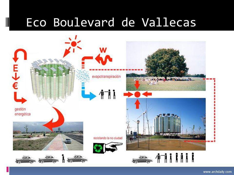 Eco Boulevard de Vallecas www.archdaily.com