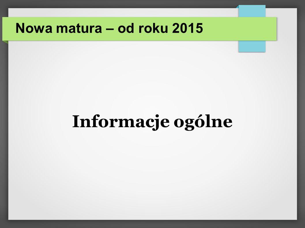 Przedmioty obowiązkowe Język polski – część pisemna (poz.