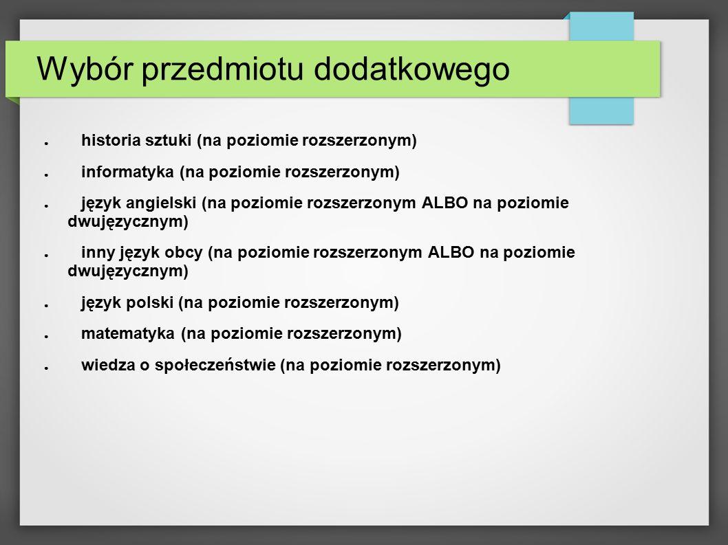 Wszystkie potrzebne informacje, arkusze maturalne znajdziesz na www.cke.edu.pl