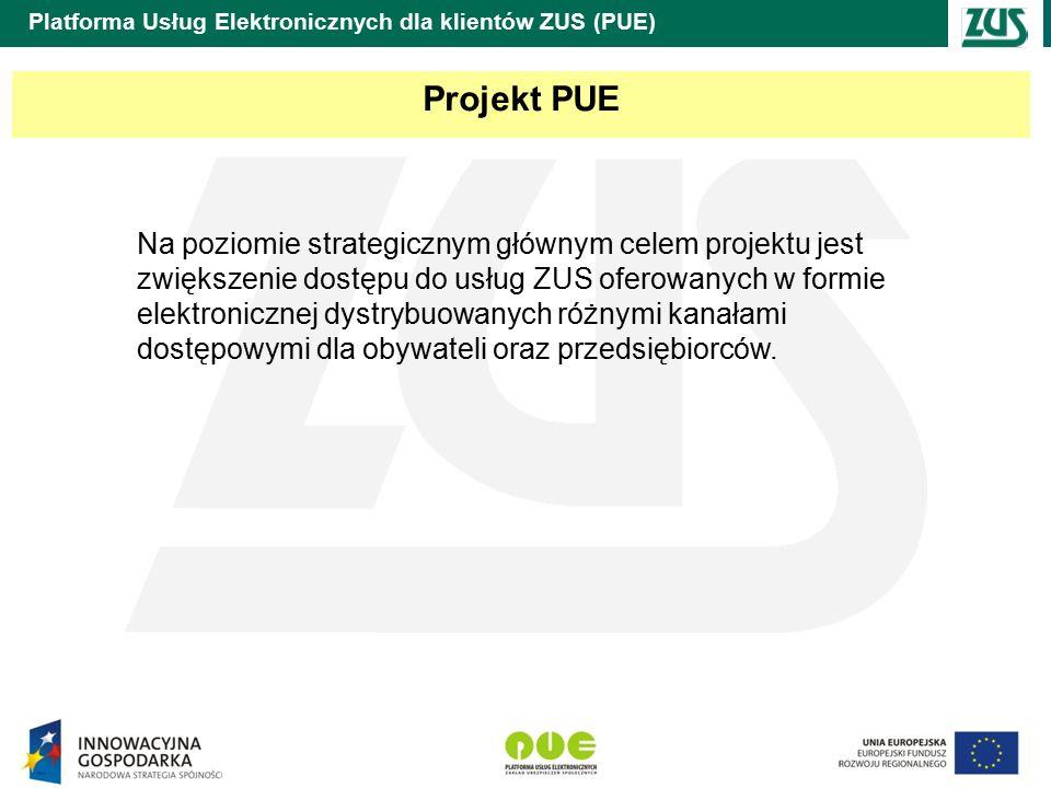 Platforma Usług Elektronicznych dla klientów ZUS (PUE) Przykład procesu biznesowego (wniosek o wydanie zaświadczenia o podleganiu ubezpieczeniu)