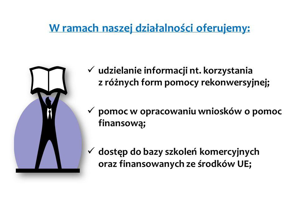 W ramach naszej działalności oferujemy: udzielanie informacji nt.