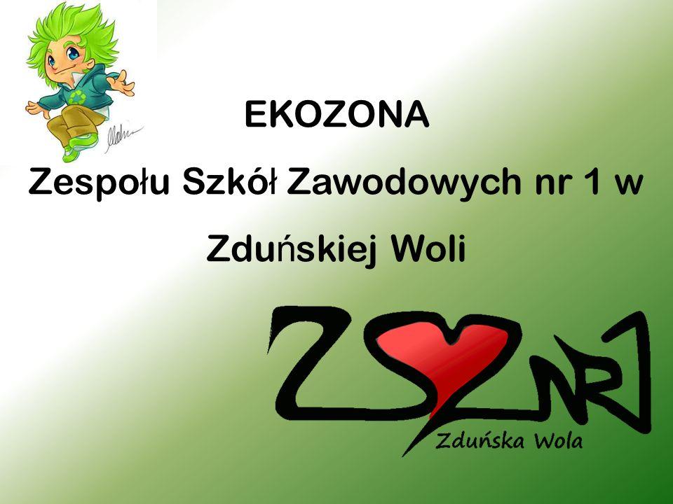EKOZONA Zespo ł u Szkó ł Zawodowych nr 1 w Zdu ń skiej Woli