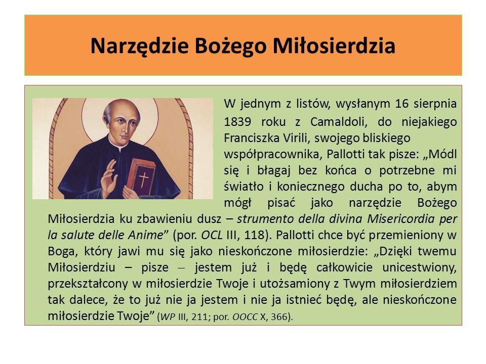 Nowy początek na nowe czasy Uczynki miłosierdzia to nieco zapomniany element chrześcijańskiej i pallotyńskiej tradycji.