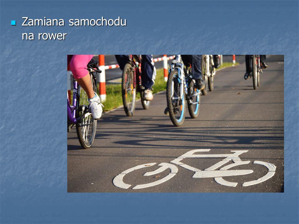 Zamiana samochodu na rower Zamiana samochodu na rower