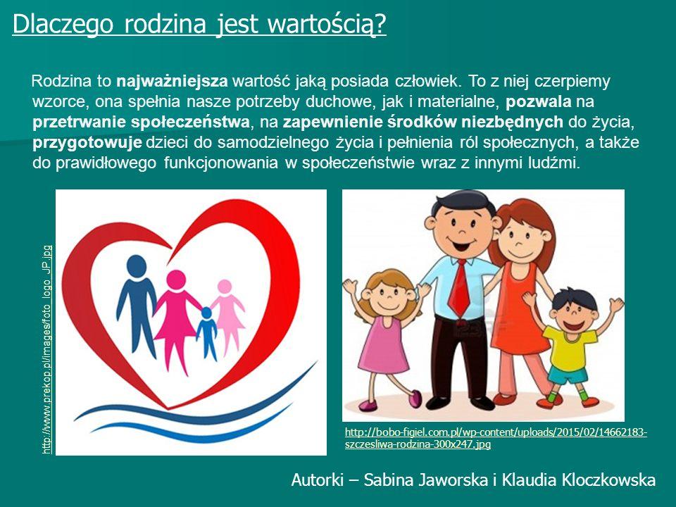 Dlaczego rodzina jest wartością? Rodzina to najważniejsza wartość jaką posiada człowiek. To z niej czerpiemy wzorce, ona spełnia nasze potrzeby duchow
