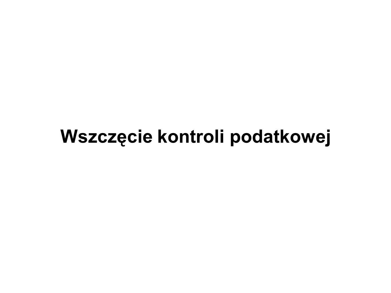 Upoważnienie do przeprowadzenia kontroli (2) Art.283 Op § 2.