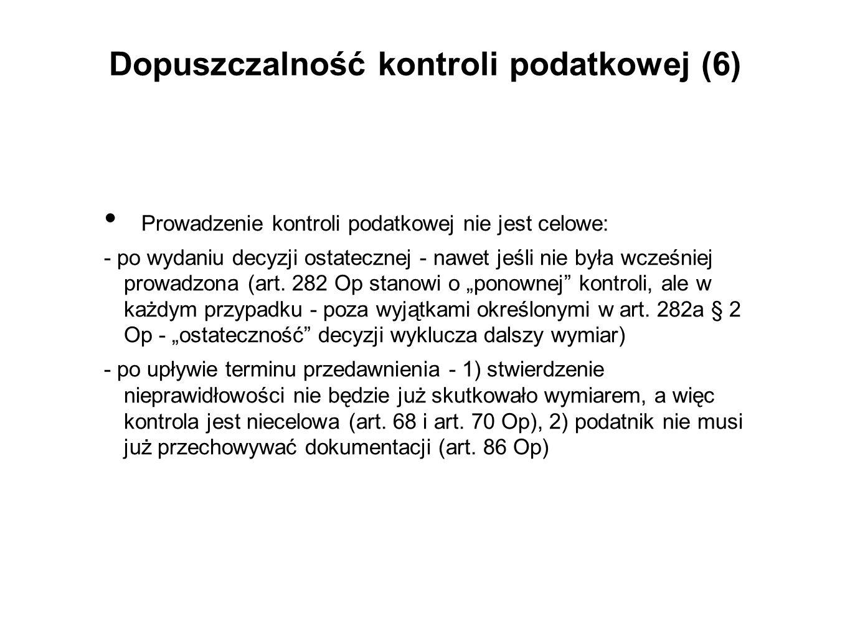 Środki prawne przysługujące kontrolowanemu w związku z nieprawidłowościami przy wszczęciu kontroli (3) Art.