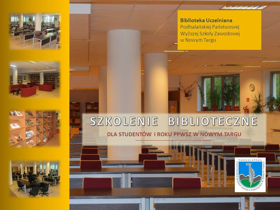 Biblioteka Uczelniana Podhalańskiej Państwowej Wyższej Szkoły Zawodowej w Nowym Targu