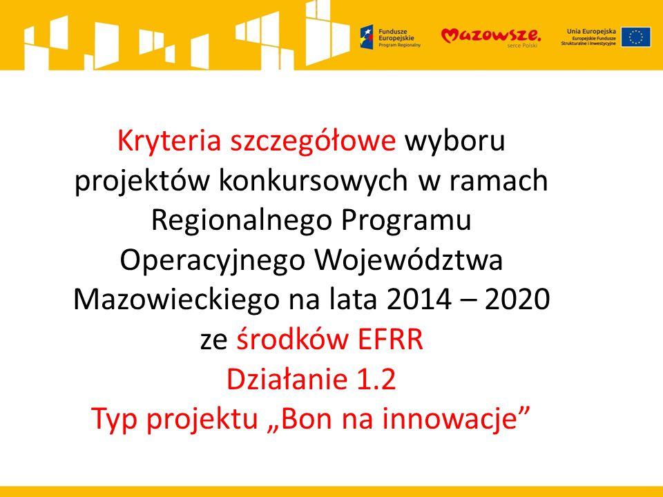 KRYTERIA MERYTORYCZNE - SZCZEGÓŁOWE L.p.