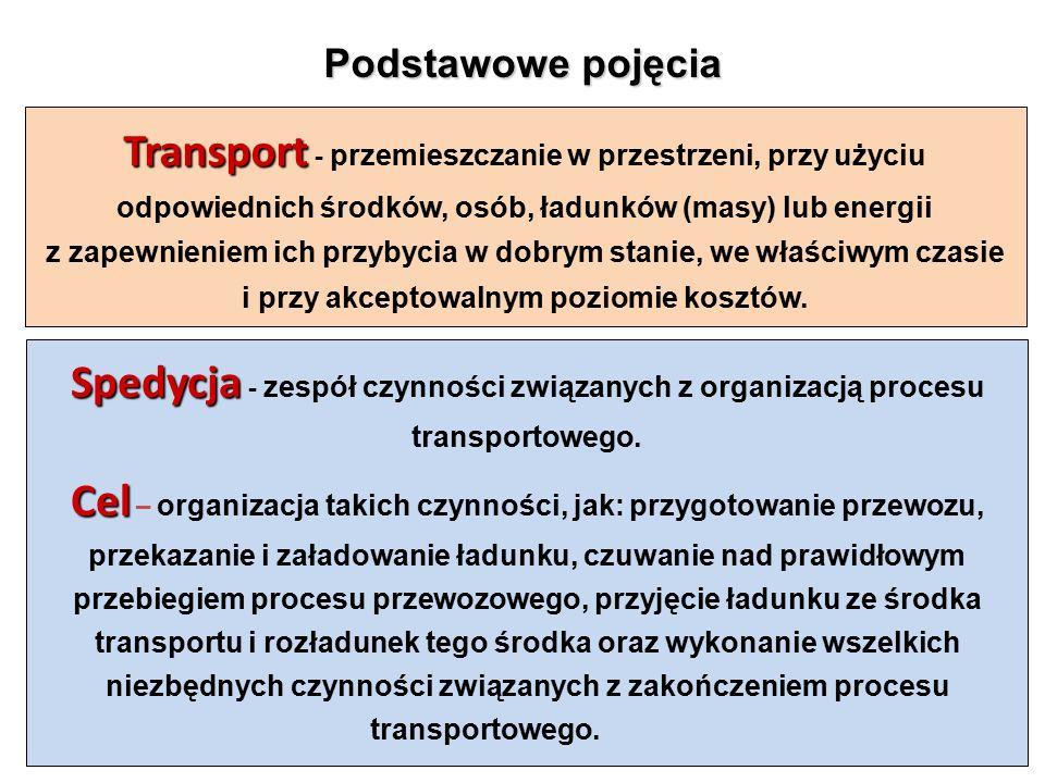 Na krajowym rynku usług spedycyjnych i transportowych można wyodrębnić kilka rodzajów działalności przedsiębiorstw transportowych:  usługi w wąskim tego słowa znaczeniu, które odnoszą się do bezpośredniego organizowania / wykonania przemieszczania ładunków przez poszczególnych przewoźników z miejsca nadania do miejsca przeznaczenia;  usługi w szerszym tego słowa znaczeniu, obejmujące również organizowanie przeładunków, magazynowania, pakowania, kompletacji itp., czyli wszystkie te czynności, które warunkują wykonanie usługi transportowej;  usługi specjalistyczne.