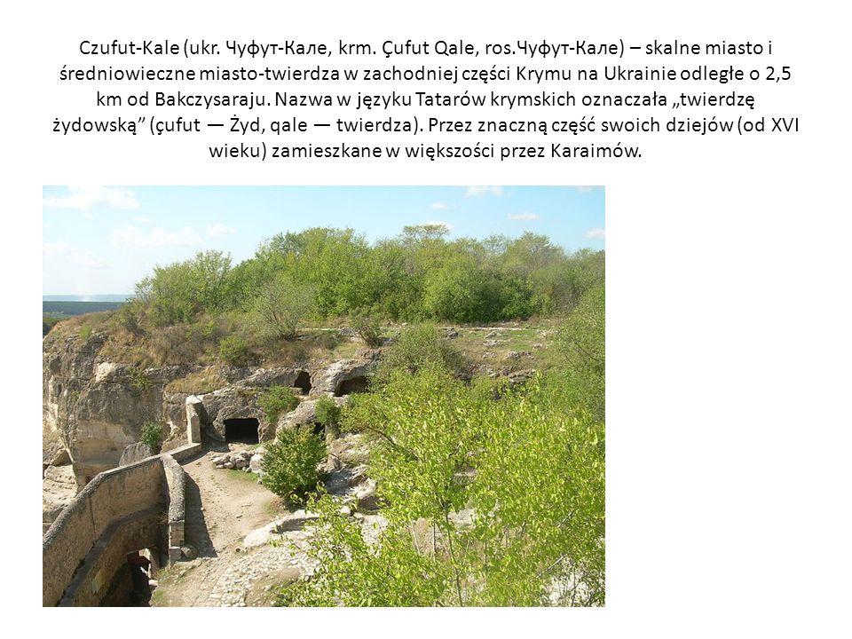 Czufut-Kale (ukr. Чуфут-Калe, krm. Çufut Qale, ros.Чуфут-Кале) – skalne miasto i średniowieczne miasto-twierdza w zachodniej części Krymu na Ukrainie