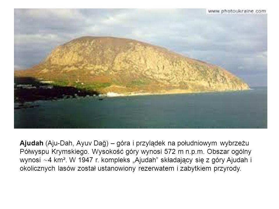 Ajudah (Aju-Dah, Ayuv Dağ) – góra i przylądek na południowym wybrzeżu Półwyspu Krymskiego. Wysokość góry wynosi 572 m n.p.m. Obszar ogólny wynosi ∼ 4