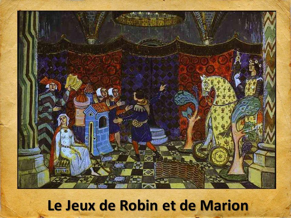Le Jeux de Robin et de Marion