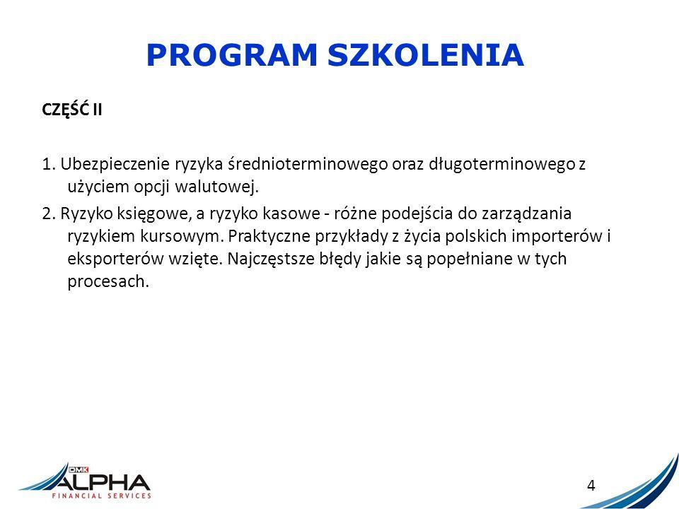 PROGRAM SZKOLENIA CZĘŚĆ II 3.