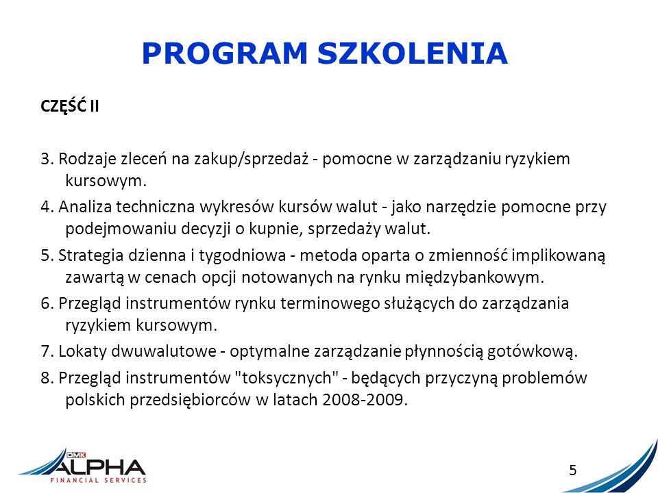 ZABEZPIECZENIE KOSZTU – FAKTURA DENOMINOWANA Dostawca wystawia w tym dniu fakturę na kwotę 100 000 EUR x 4,3000 = 430 000 PLN.
