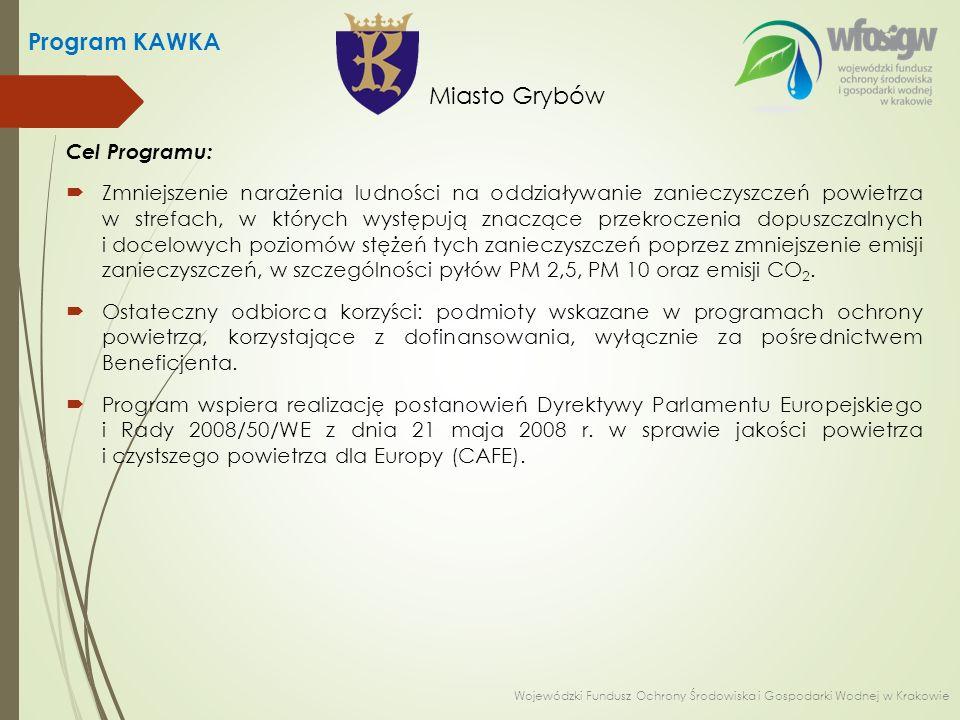 Beneficjenci:  Program skierowany jest do:  jednostek samorządu terytorialnego,  spółek komunalnych.