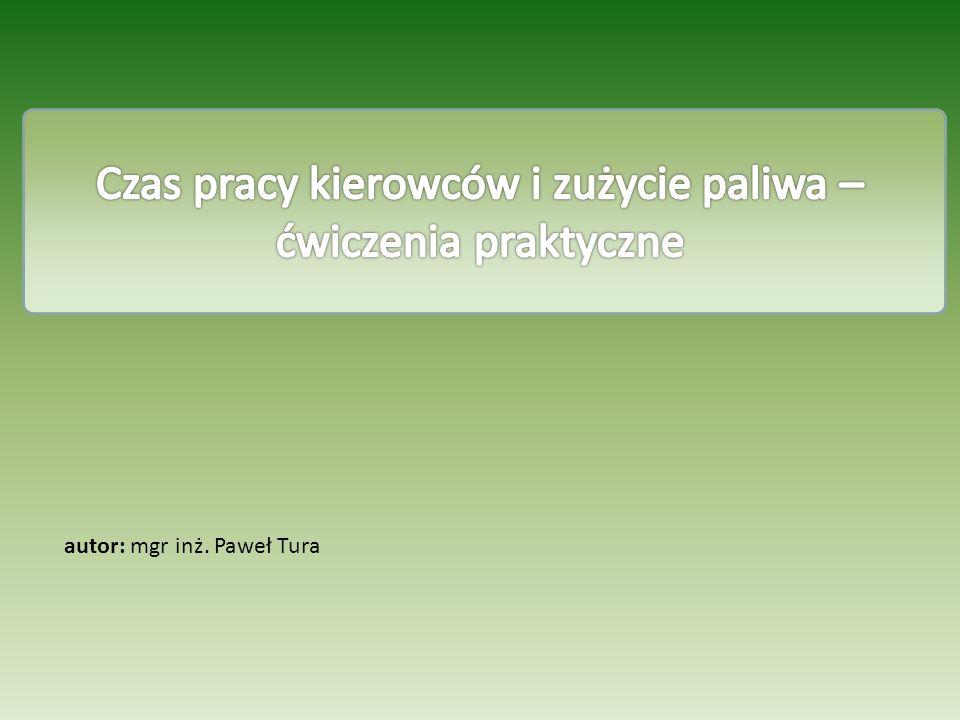 autor: mgr inż. Paweł Tura