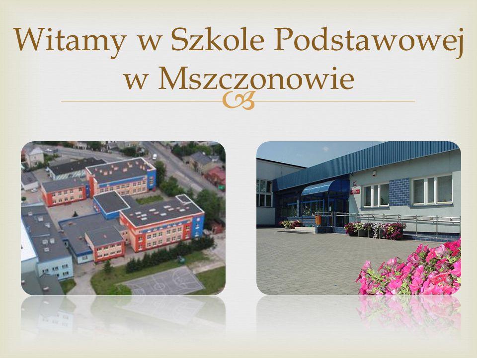 Witamy w Szkole Podstawowej w Mszczonowie
