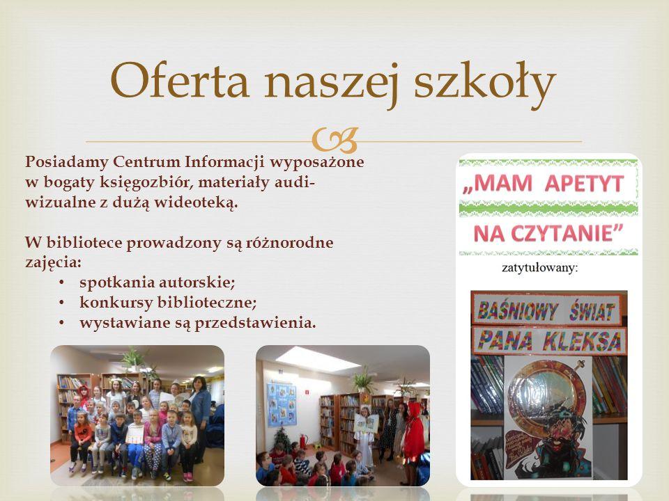  Na terenie naszej szkoły prężnie działają: Mistrzowie Kodowania SKO Samorząd Uczniowski SKS FRESH
