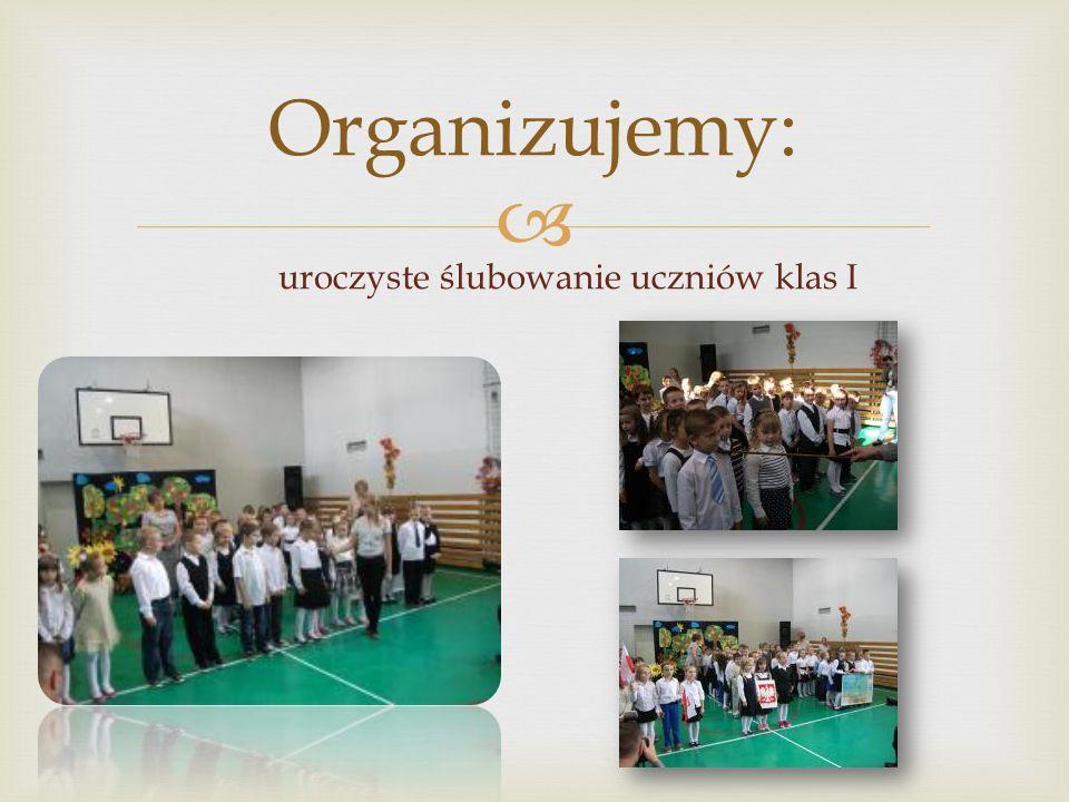  Organizujemy: konkursy szkolne