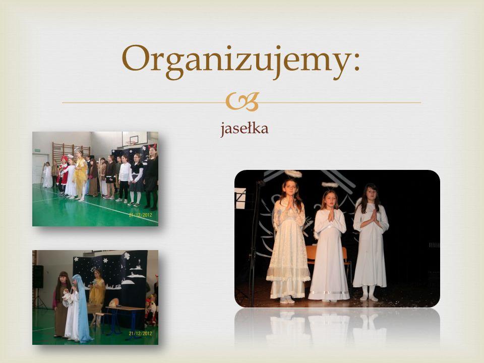  Organizujemy: uroczyste ślubowanie uczniów klas I