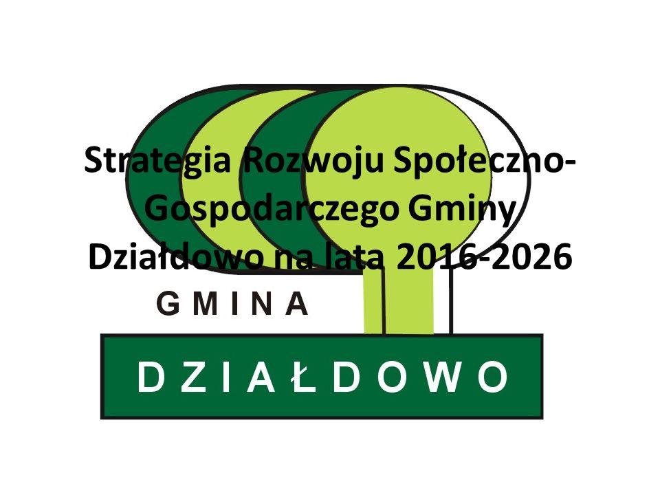 Strategia Rozwoju Społeczno- Gospodarczego Gminy Działdowo na lata 2016-2026