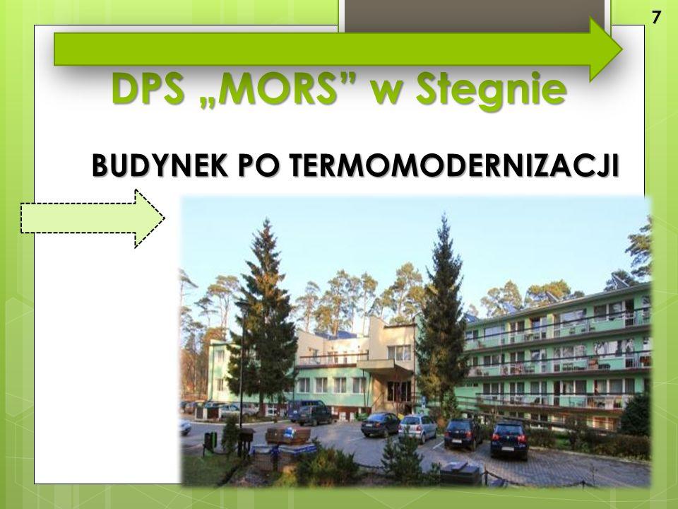 """DPS """"MORS w Stegnie BUDYNEK PO TERMOMODERNIZACJI 7"""