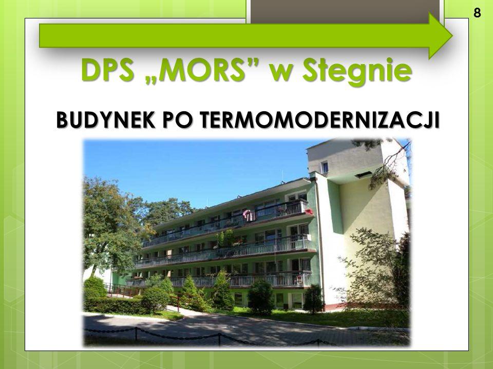 """DPS """"MORS w Stegnie BUDYNEK PO TERMOMODERNIZACJI 8"""