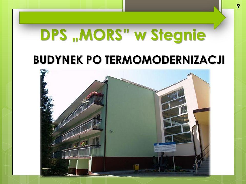 """DPS """"MORS w Stegnie BUDYNEK PO TERMOMODERNIZACJI 9"""