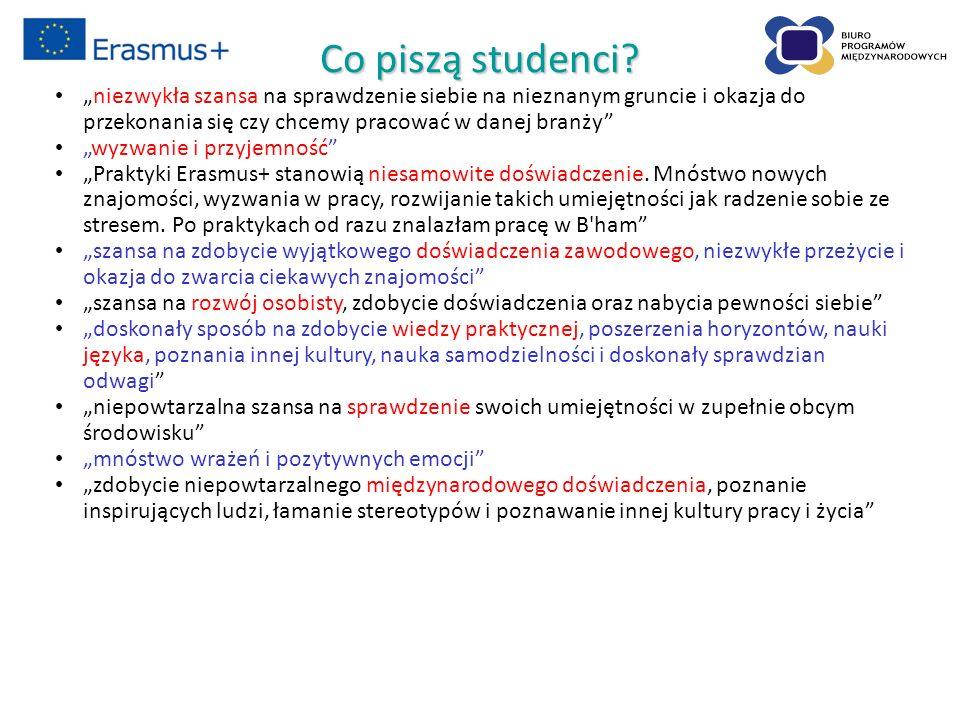 Co piszą studenci.