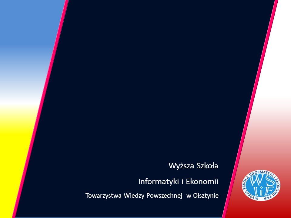 Wyższa Szkoła Informatyki i Ekonomii Towarzystwa Wiedzy Powszechnej w Olsztynie