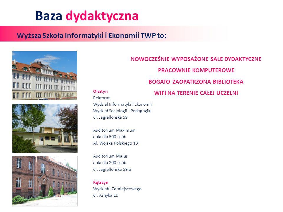 Olsztyn Rektorat Wydział Informatyki i Ekonomii Wydział Socjologii i Pedagogiki ul.