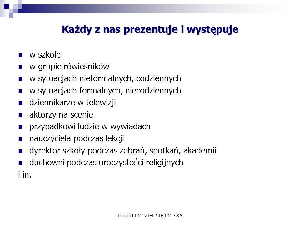 Projekt PODZIEL SIĘ POLSKĄ 5.