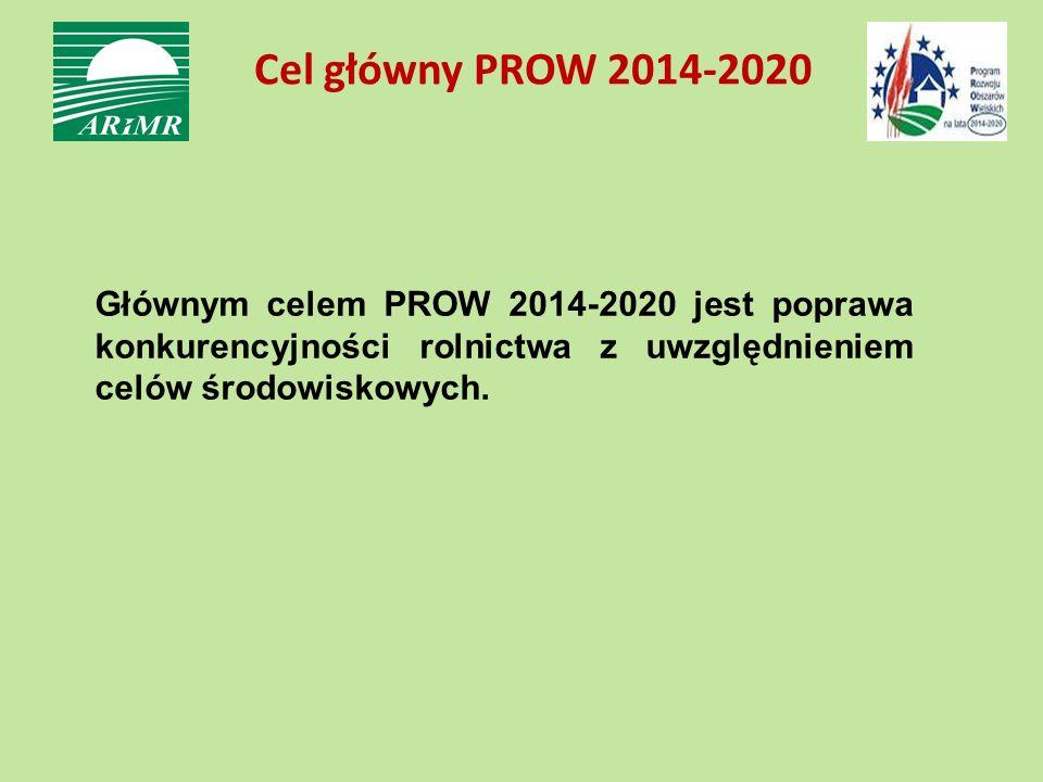 Cel główny PROW 2014-2020