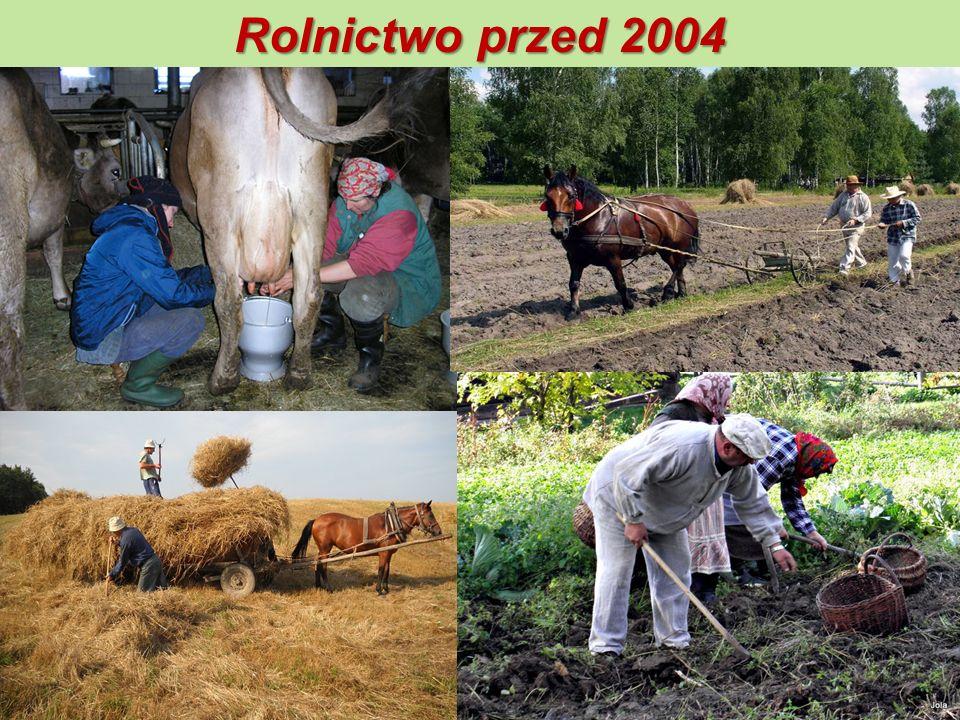 Rolnictwo przed 2004