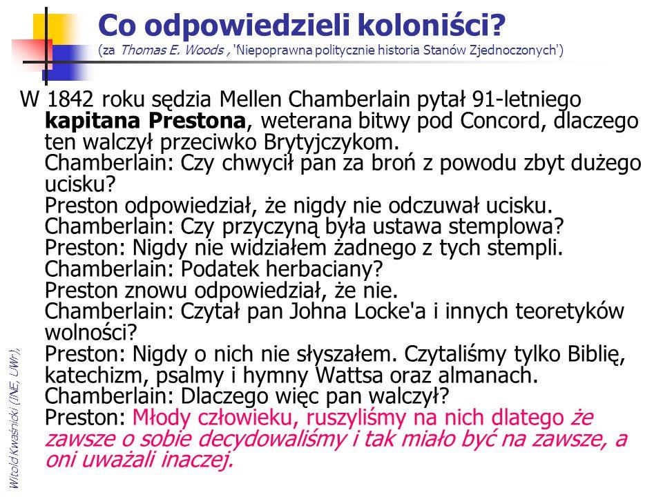 Witold Kwaśnicki (INE, UWr), Co odpowiedzieli koloniści.