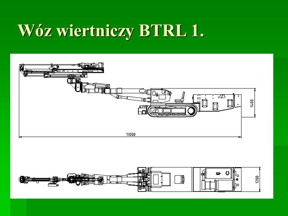 Wóz wiertniczy BTRL 1.