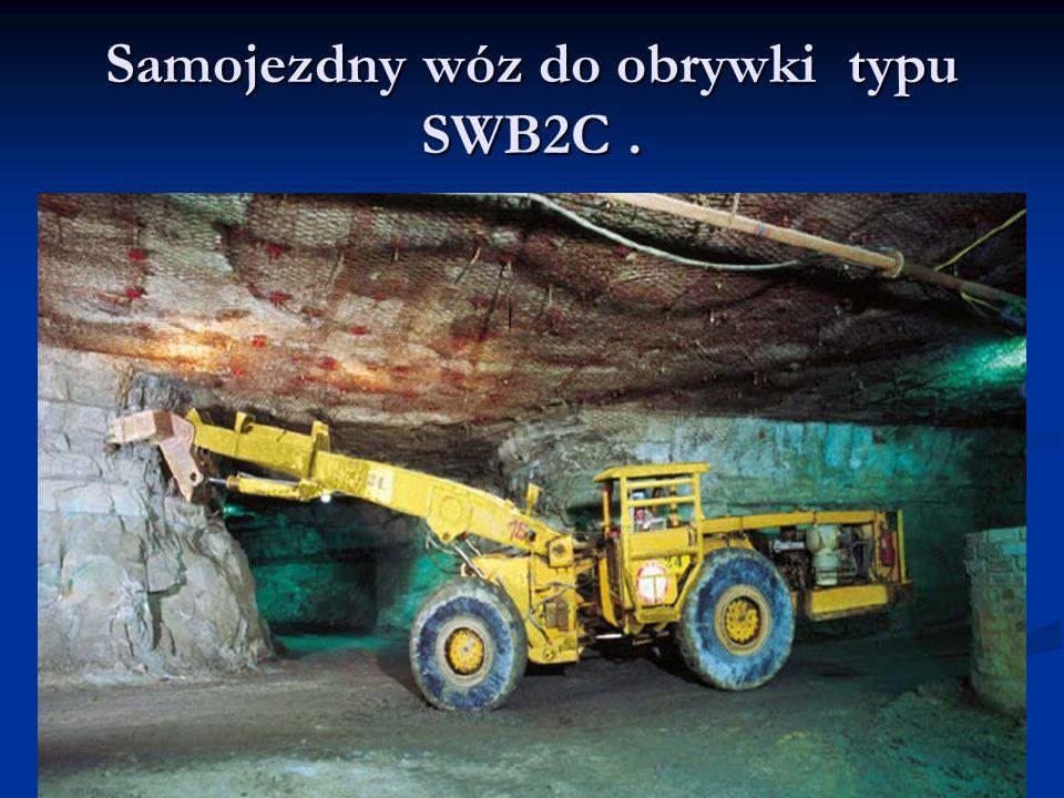 Samojezdny wóz do obrywki typu SWB2C.